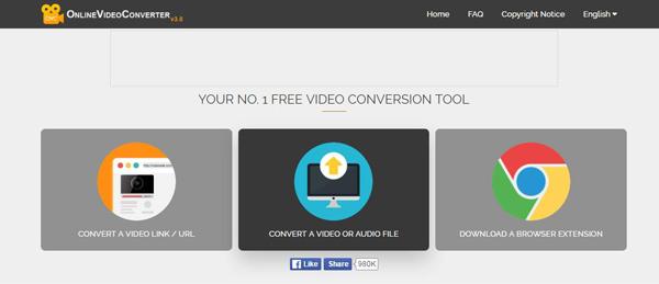 Convertitore online da FLV a MP3