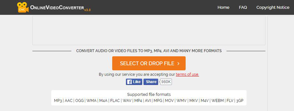 Aggiungi video FLV
