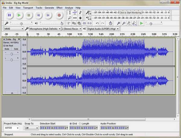 Dodaj Flac do Audacity