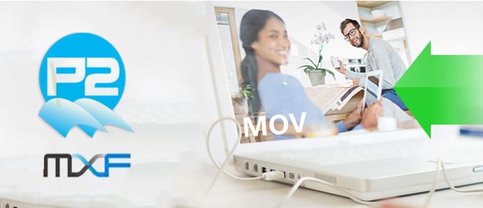 Převést P2 MXF na MOV