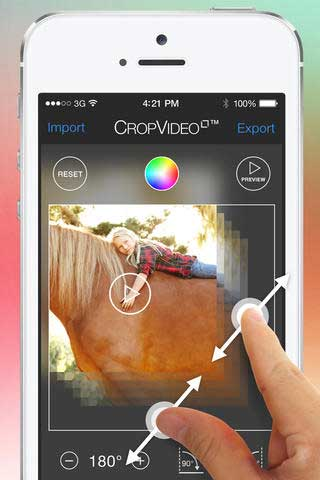 Crop Video on iPhone