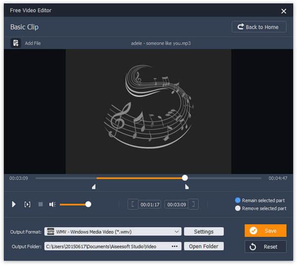Κόφτης MP3