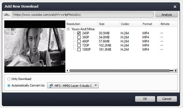 Κατεβάστε το YouTube στο MP3