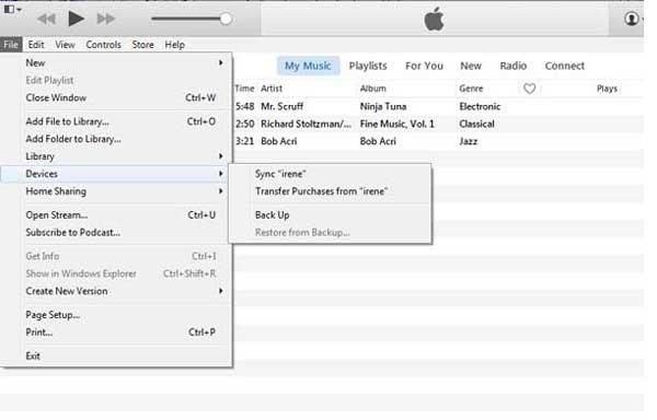 Προσθέστε μουσική στο iPod