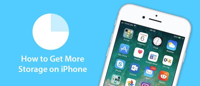 Πώς να αποκτήσετε μεγαλύτερη αποθήκευση στο iPhone