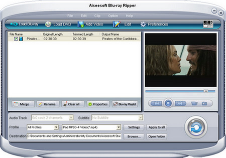 How to Rip Blu-Ray DVD and Common DVD More Easily Screenshot
