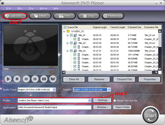 How to rip a DVD, convert video and transfer music from ipod Dvd