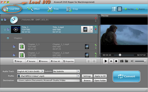 How to Put DVD/Video on iPod, PSP, Computer, Zune, Xbox (Mac Dvd