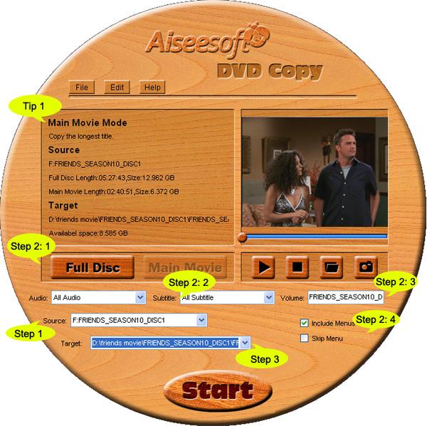 How to Rip DVD(windows/mac), Copy DVD, Convert Video? Steps