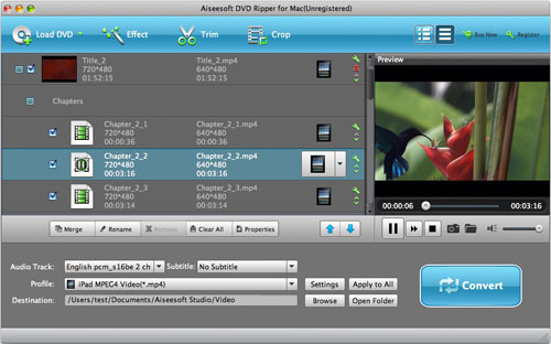 How to Convert your DVD to any format at your will? Load-dvd-mac