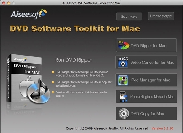 How to Rip DVD, Convert Video, Backup iPod info,Make iPhone  Dvd-software-toolkit-mac
