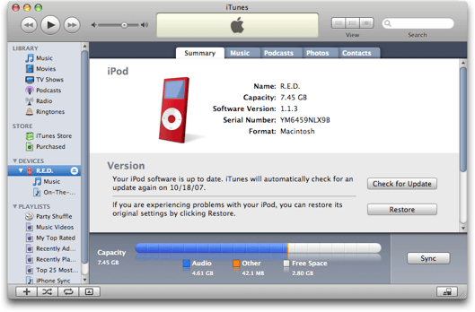 How to Reformat an iPod