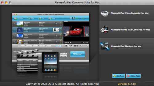 How to Rip DVD and Convert Video for Your iPad On Windows/Ma Ipad-converter-suite-for-mac