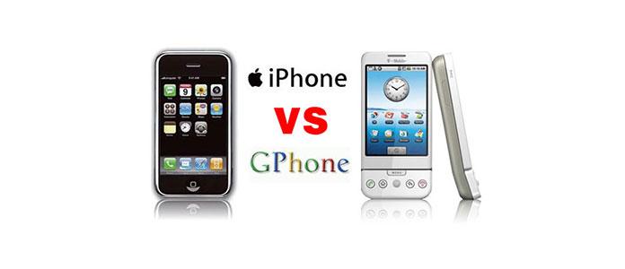 Gphone contro iPhone
