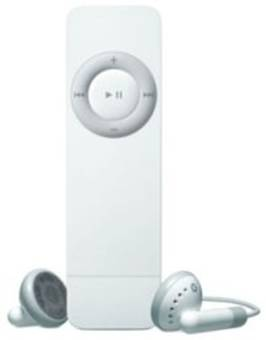 The first generation iPod shuffle