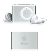 The Second generation iPod shuffle