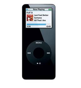 The first generation iPod nano