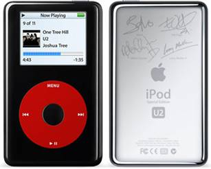 The second generation iPod U2 Color