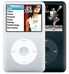 The Sixth generation iPod -iPod classic