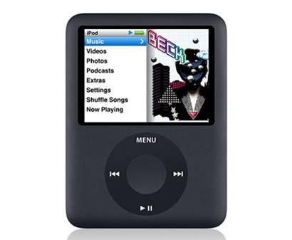 L'iPod nano di terza generazione