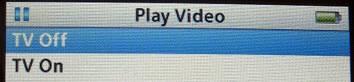 Riproduci video iPod su TV