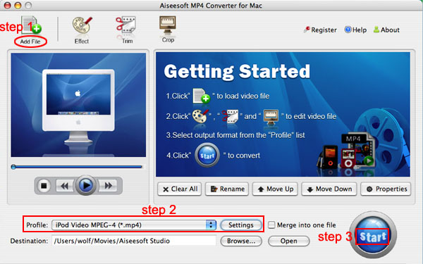 Mac/Windows MP4 Converter Guide: how to convert video to MP4 Mp4-converter-mac