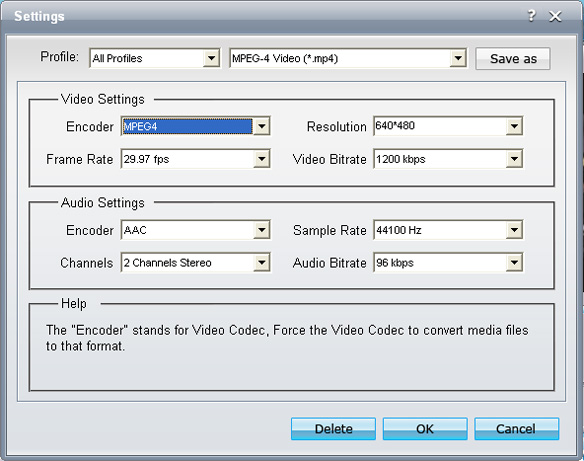 Mac/Windows MP4 Converter Guide: how to convert video to MP4 Settings