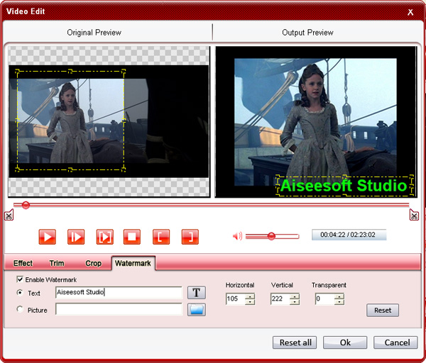 How to Convert DVD and Video to Any Video Format You Want Freely? Effect