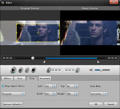 How to enjoy your videos with Total Video Converter? Total-crop