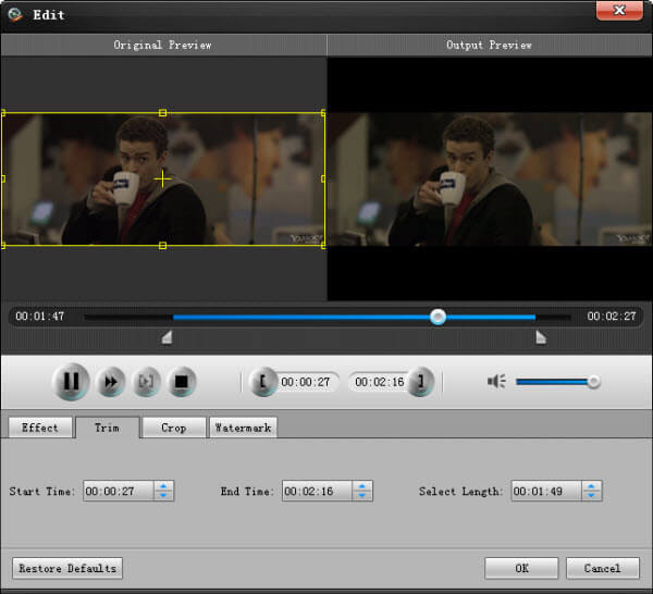 Aiseesoft FLV Video Converter Screenshot
