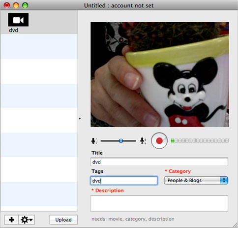 Aiseesoft DVD to FLV Converter for Mac Screenshot