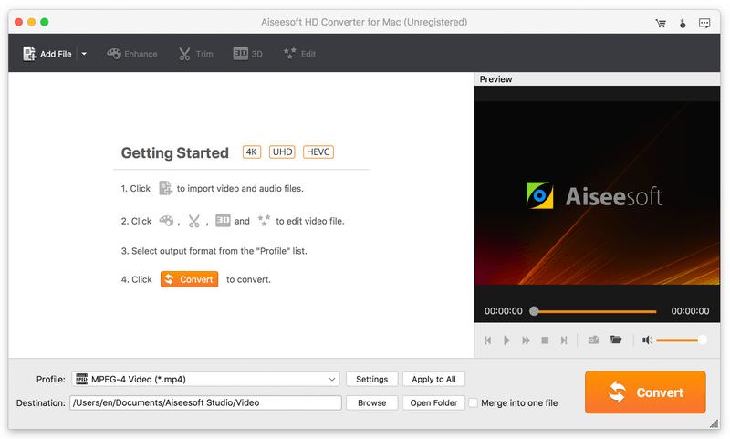 Aiseesoft HD Converter for Mac 6.5.28 full