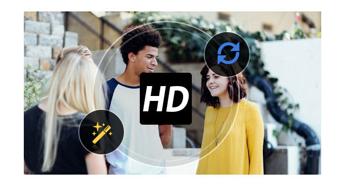 Converti e modifica video HD