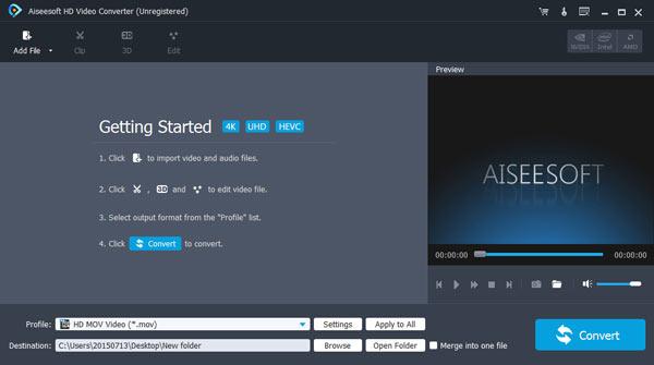 Aiseesoft HD Video Converter - 高清视频转换软件丨反斗限免