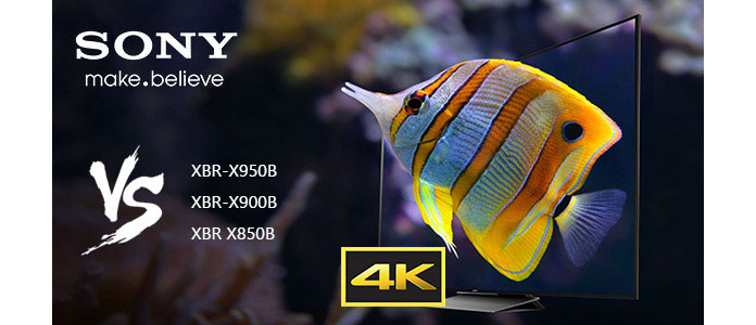 Σύγκριση τηλεοράσεων Sony 4K