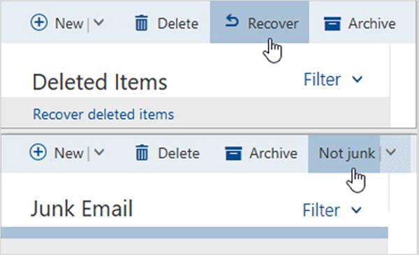 Recover Hotmail Emails