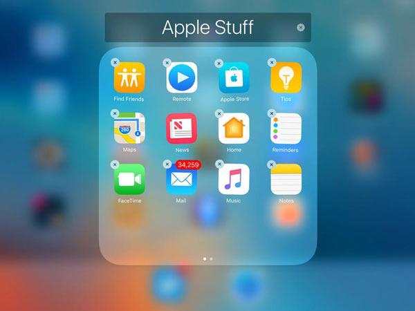 Διαγράψτε άμεσα τα παιχνίδια από το iPad