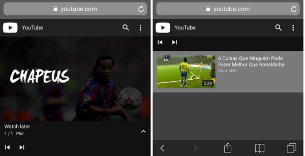 Riproduci un video su iPhone