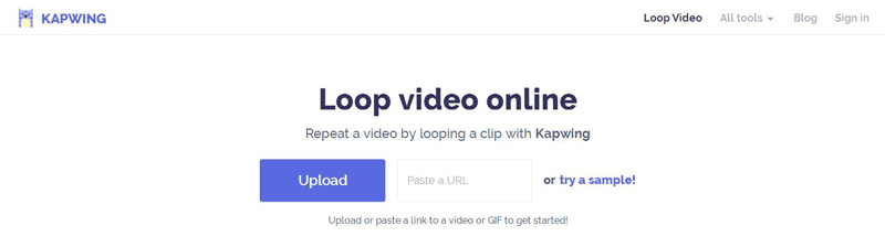 Looper di un video online