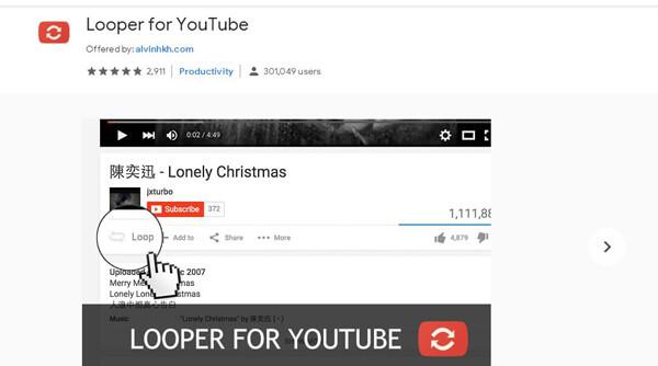 Looper per YouTube