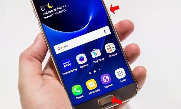 Come fare uno screenshot su Galaxy S7 / S6 / S5 / S4