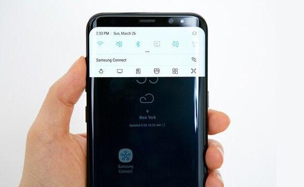 Come fare uno screenshot su Samsung Galaxy S8
