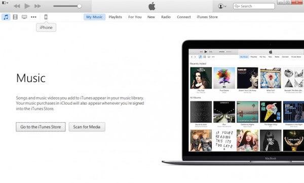 Μεταφορά μουσικής από iPod σε Mac με iTunes