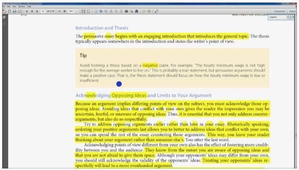 Evidenzia in PDF