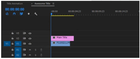 Aggiungi testo al video con Adobe Premiere