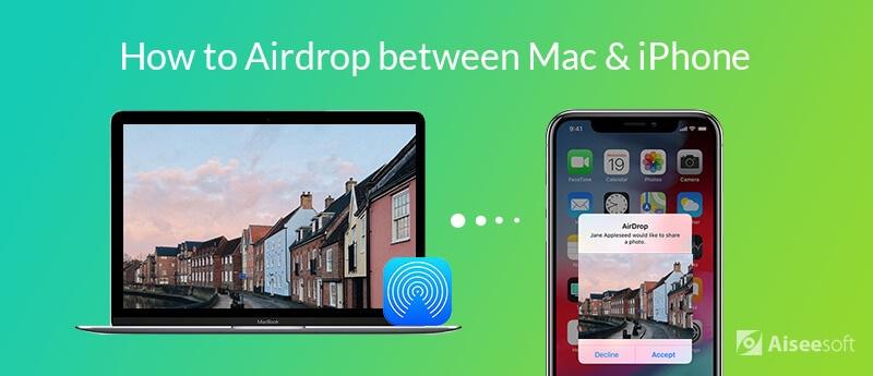 AirDrop Mac-iPhone
