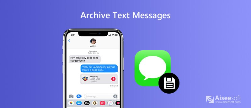 Archivia messaggi di testo