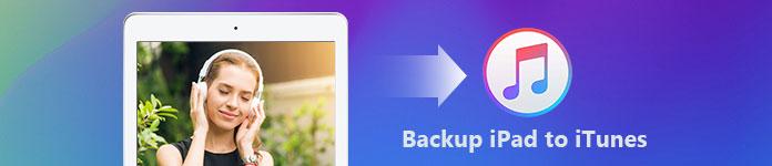 Δημιουργήστε αντίγραφα ασφαλείας για το iPad στο iTunes
