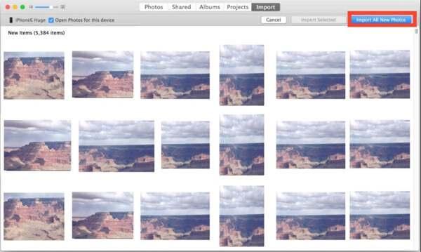 Δημιουργία αντιγράφων ασφαλείας φωτογραφιών iPhone σε Mac με εφαρμογή APP Photos