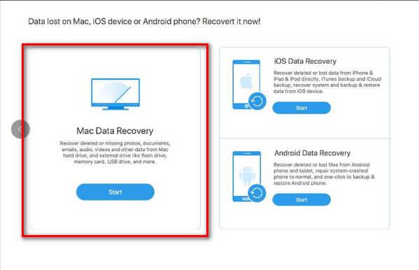 Odzyskiwanie danych dla komputerów Mac